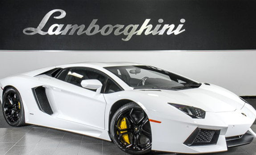 The newest of the 0260 collection! 2012 Lamborghini Aventador gets a new home.